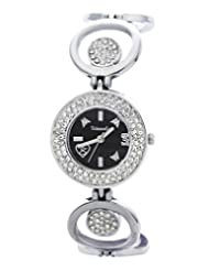 Telesonic Integrity Analog Black Dial Women Watch - GCI-021(BLACK)