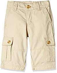 UFO Boys' Shorts (AW16-NDF-BKT-290_Stone_14 - 15 years)