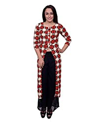 Snoby Red Print Long Dress (SBY6028)