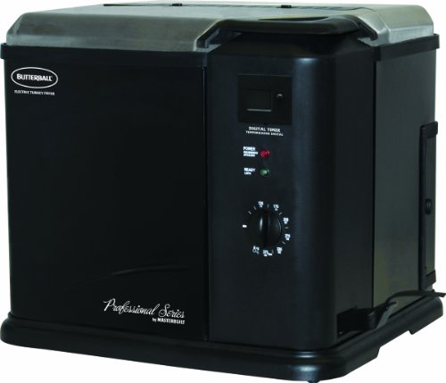 Masterbuilt 20010611 Butterball Professional Series Indoor Electric Turkey Fryer, Black