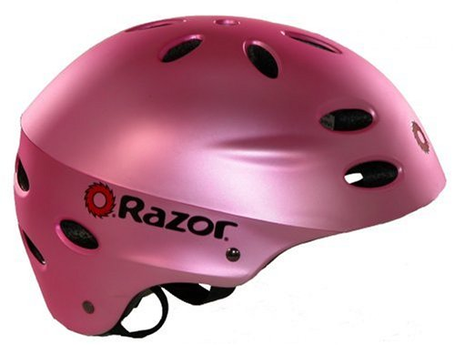 Razor Aggressive Youth Multi-sport Helmet (Satin Pink)
