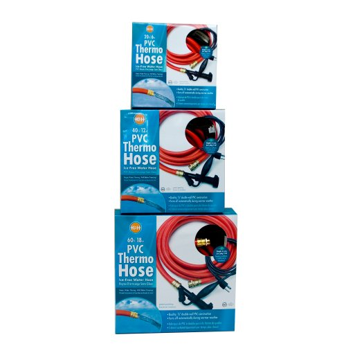 K&H Manufacturing Thermo-Hose PVC Red 60-Foot 250 Watts