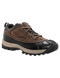 Timberland Men's Canard Low Waterproof Lace-Up Chocolate/Black Sneaker 13 D (M)
