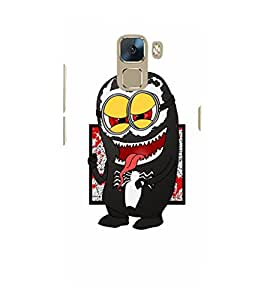 EPICCASE Minion Symbiote Mobile Back Case Cover For Huawei Honor 7 (Designer Case)