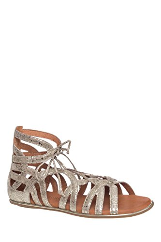 Break My Heart Gladiator Flat Sandal
