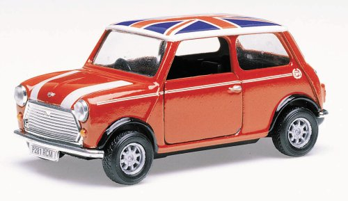 Corgi Toys TY82248 Red Mini Cooper Union Jack 1:36 Scale