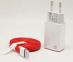 SEC OnePlus Two 2A USB Travel Adapter Charger + Type C Cable One meter For OnePlus 2 OnePlus Two, Red n white (ONLY FOR ONEPLUS 2 MOBILE)