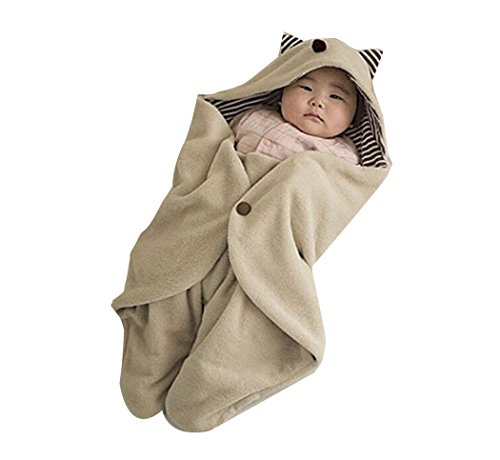 boutique1583 Baby Autumn Winter Warm Bedding Swaddle Blanket Sleeping Bag