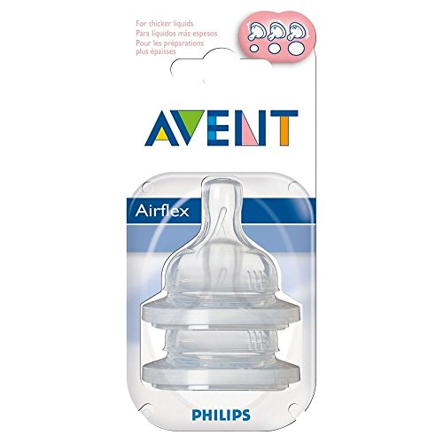 Avent-Airflex-Silikonsauger-Variable-Strmungs-3Mth-2