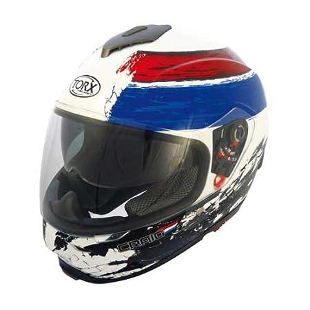 Casque MOTO intégral TORX CRAIG BRB Taille XXL