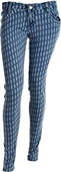 EBONY Women's Slim Jeans (6753_30, Blue, 30)