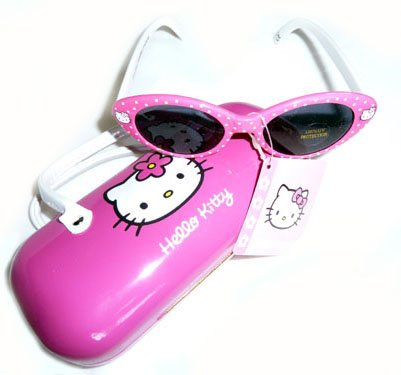 Hello Kitty Girls Sunglasses With Case