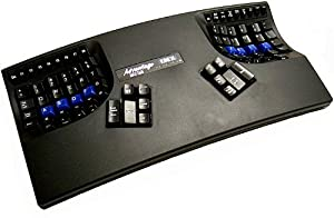 Kinesis KB500USB-BLK Advantage USB Contoured Keyboard (Black)