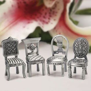 Mini Chair Placecard Holder Wedding Favors - $1.49 each, 15