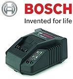 Bosch Rotak AL3620CV Battery Charger c/w UK 3-Pin Plug (To Fit & Charge: Bosch 36V-Li Batteries used on Rotak 32-Li, 34-Li, 37-Li, 43-Li Lawn Mowers) c/w STANLEY KeyChain & Cadbury Chocolate Bar