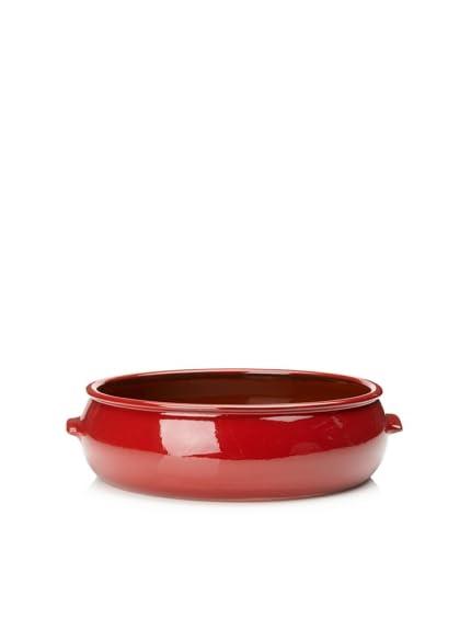 Terafeu Terafour Round Baker Dish, Red