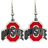 Ohio State Buckeyes Dangle Earrings - NCAA College Athletics Fan Shop Sports Team Merchandise