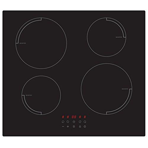 Exquisit Plaque de cuisson en vitrocéramique encastrable EKI 2.5