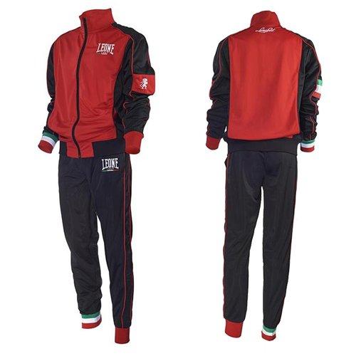 Tuta Completa (Giacca e Pantaloni) Leone AB796 (ROSSO, XL)