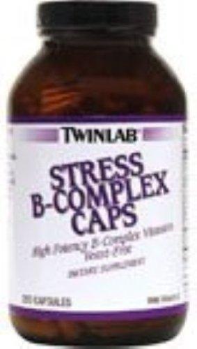 Twinlab Stress B-Complex Caps - 250 Capsules