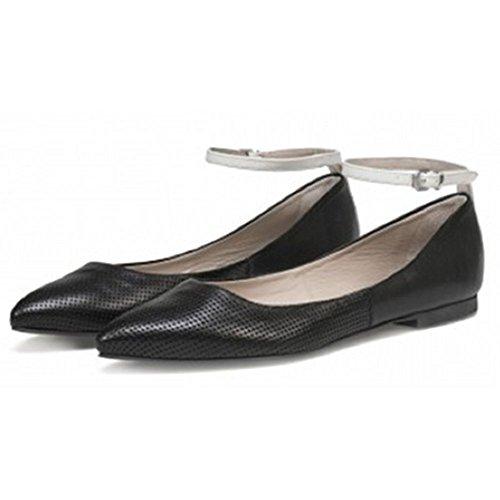 Goldmud - Scarpe con cinturino alla caviglia Donna , nero (nero), 36 EU