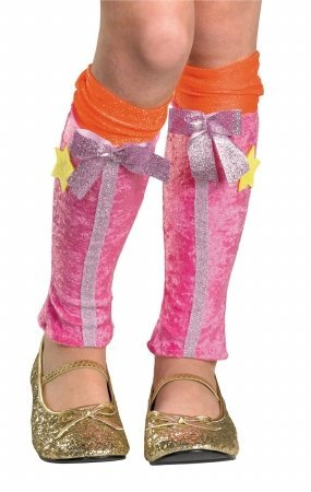 Winx Club Stella Leg Covers, Pink/Orange, One Size