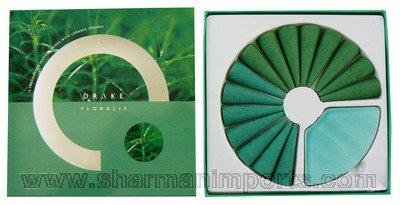 HARDWARE - 15 FRAGRANCED INCENSE CONES WITH CERAMIC HOLDER - 1 OF