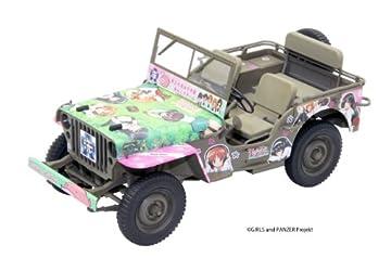 1/20 ガールズ & パンツァーシリーズ アメリカ陸軍1/4トン 4x4トラック (41103)