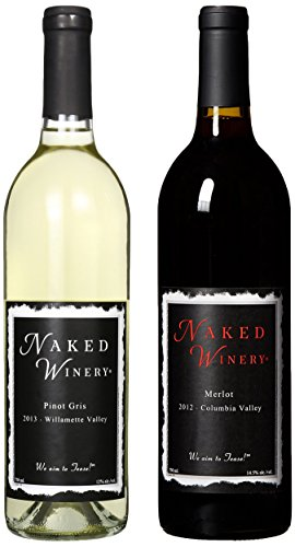 Naked Winery Naked Couple Mixed Pack, 2 X 750 Ml