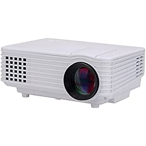 Jeasun RD-805 Mini Portable Projector Multimedia LED Projector Digital Home Projector with AV/VGA/SD/USB/TV Input