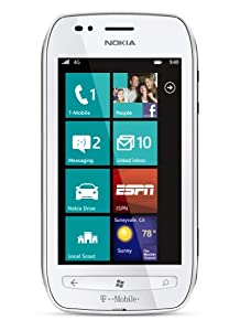 Nokia Lumia 710 4G Prepaid Windows Phone, White (T-Mobile)