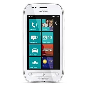 Nokia Lumia 710 4G Prepaid Windows Phone, White (T-Mobile)
