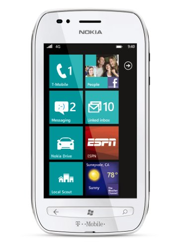 Nokia Lumia 710 4G Prepaid Windows Phone, White