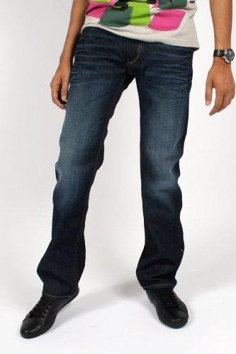 Diesel - Viker 0073N Regular / Slim Fit Jeans for Men, Size: 32W x 34L, Color: Denim