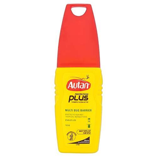 Autan Insect Repellent Protection Plus Multi Bug Barrier Pump Spray - 100ml