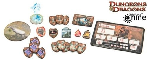 Bard Token Set Dungeons & Dragons 4th Edition Accessories