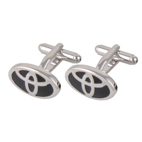goodbz-toyota-cufflinks-silver-black-car-auto-emblem-logo-novelty-cufflinks