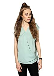Raindrops Women's Top(1208A005C-Green-L)