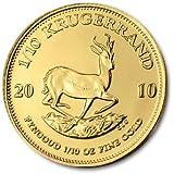 South Africa 2010 1/10 oz Gold Krugerrand