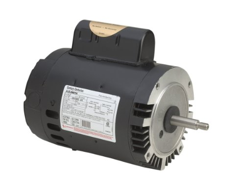 A.O. Smith B127 3/4 HP, 3450 RPM, 1 Speed, 230/115 Volts, 6.0/12.0 Amps, 1.5 Service Factor, 56J Frame, PSC, ODP Enclosure, C-Face Pool Motor from Century Electric/AO Smith Motors Co