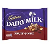 Cadbury Dairy Milk Fruit and Nut Bar 360g (Box of 12)
