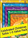 Alfreds Celebrated Christmas Solos Value Pack - Books 1-5
