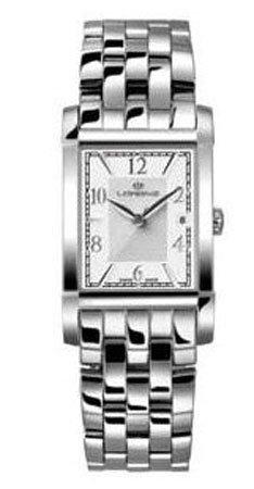 Lorenz 025499DD - Reloj , correa de acero inoxidable color plateado
