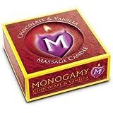 Monogamy Massage Candle Choc/Van. Monogamy Massage Candle Choc/Van.