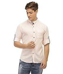 Jogur Peach Color Casual Shirt for Men