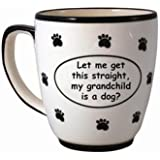 Tumbleweed 'Let me get this straight, my grandchild is a do?' Pet Coffee Mug