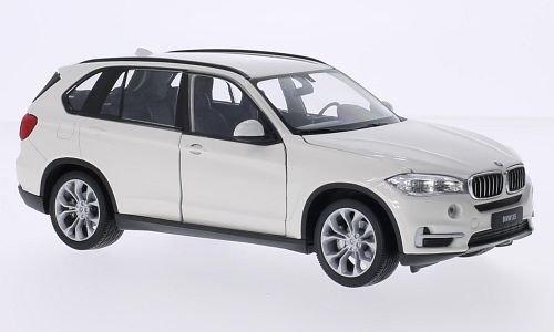 BMW-X5-F15-weiss-Modellauto-Fertigmodell-Welly-124