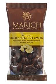 Marich Dark Choc Sea Salt Cashews, 2….