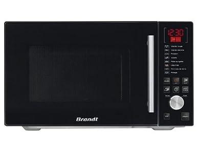 Brandt GE2622B Four à Micro Ondes Gril Pose Libre 26 L 900 W Noir