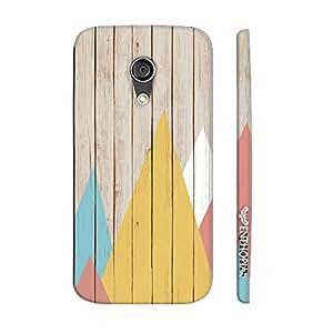Motorola Moto G2 2nd Gen Rendez-wood designer mobile hard shell case by Enthopia